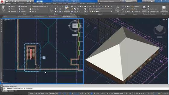 Скриншот программы autocad architecture