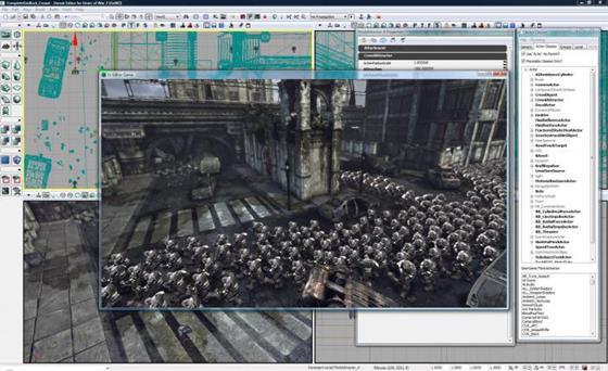 Скриншот программы unreal development kit