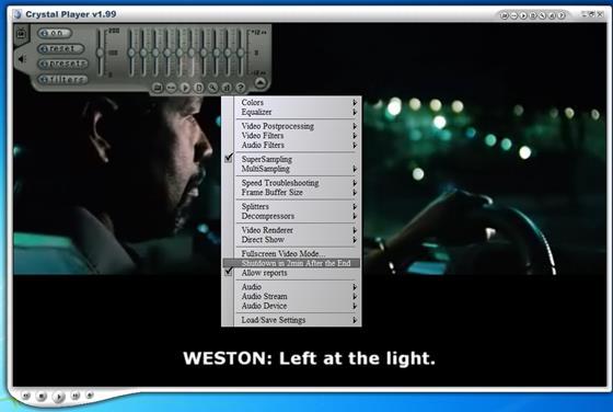 Скриншот программы crystal player