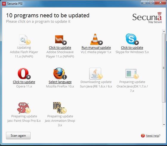 Скриншот программы psi
