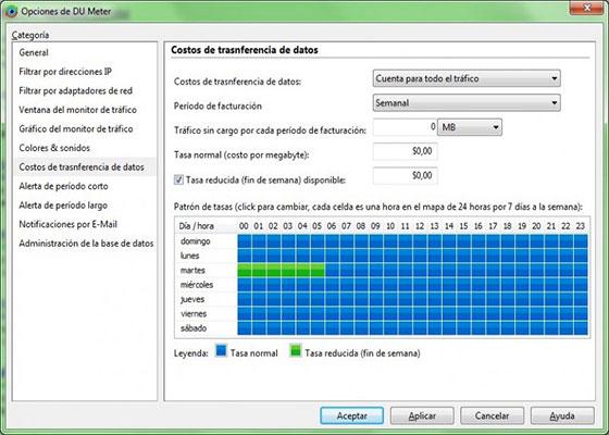 Скриншот программы du meter