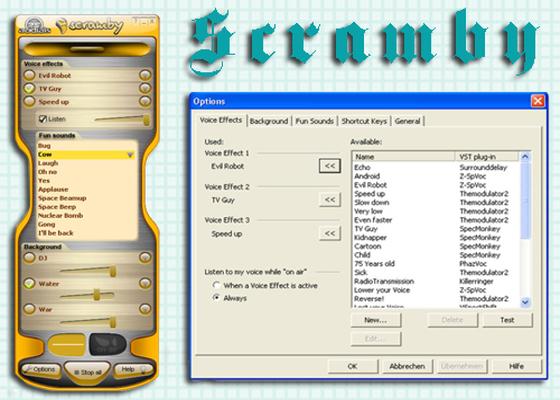 Скриншот программы scramby funvocoder для windows 10