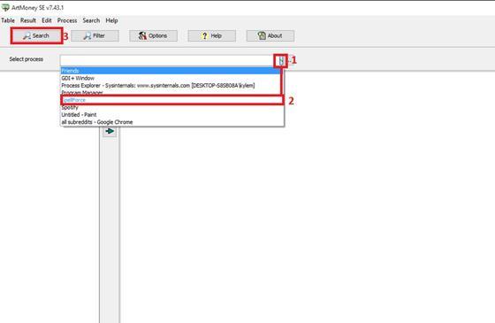 Скриншот программы artmoney pro