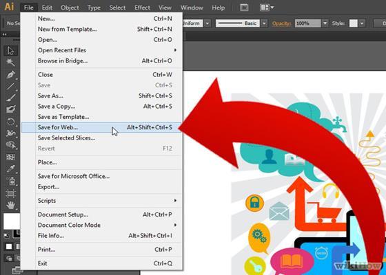 Скриншот программы adobe illustrator