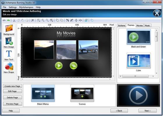 Скриншот программы ashampoo burning studio
