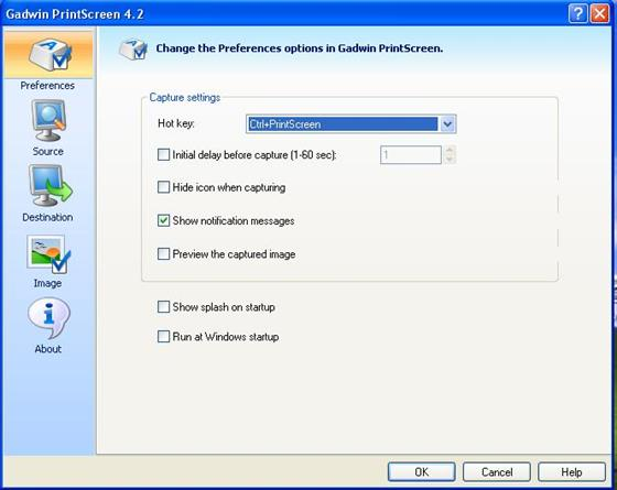 Скриншот программы gadwin printscreen
