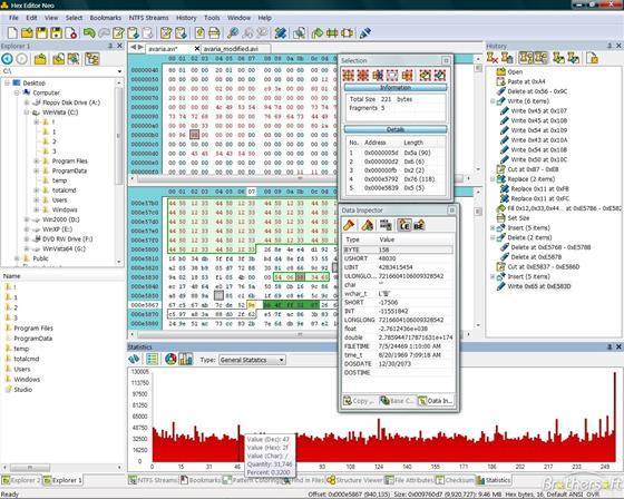 Скриншот программы hex editor neo