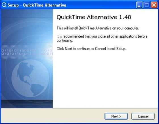 Скриншот программы quicktime alternative