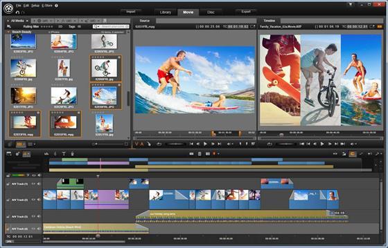 Скриншот программы pinnacle studio ultimate
