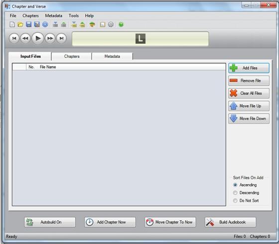 Скриншот программы audiobook
