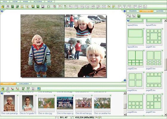 Скриншот программы photomix collage
