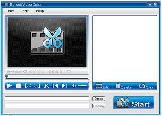 Скриншот программы video cutter