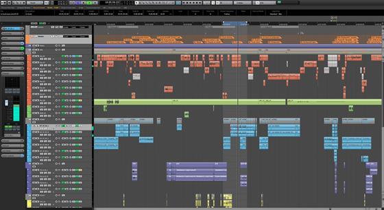 Скриншот программы nuendo