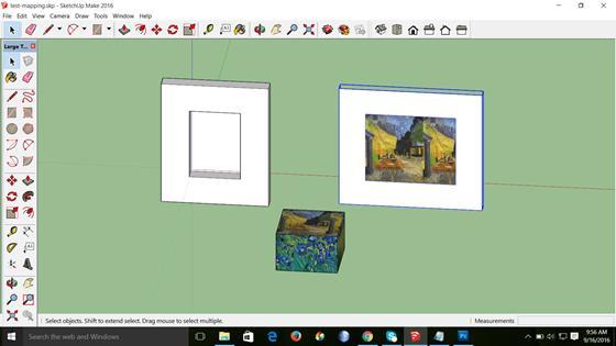 Скриншот программы sketchup make