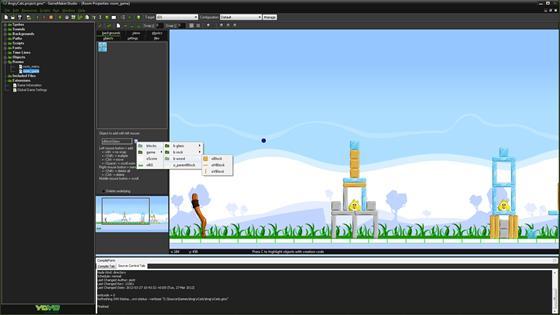 Скриншот программы gamemaker: studio