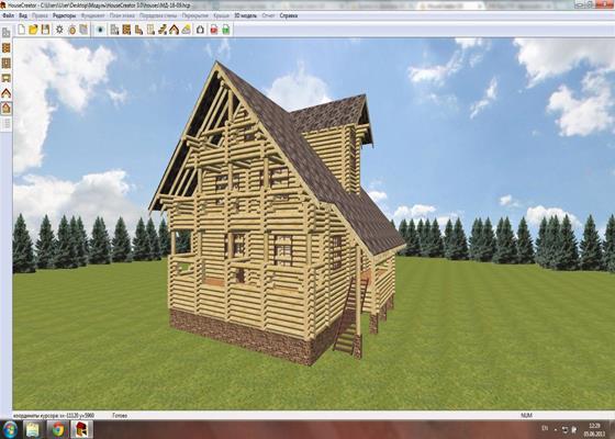 Скриншот программы housecreator