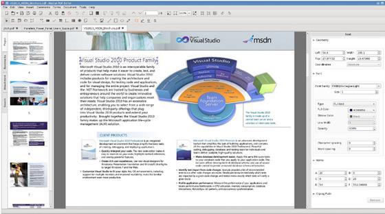 Скриншот программы master pdf editor