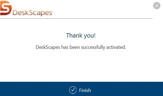 Скриншот программы deskscapes