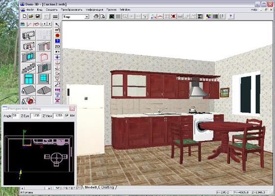 Скриншот программы дом-3d для windows 10
