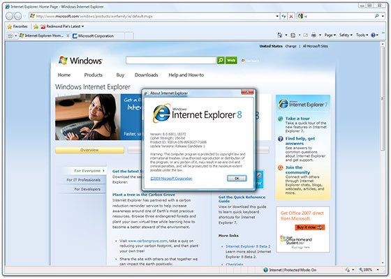 Internet Explorer 7 - Download