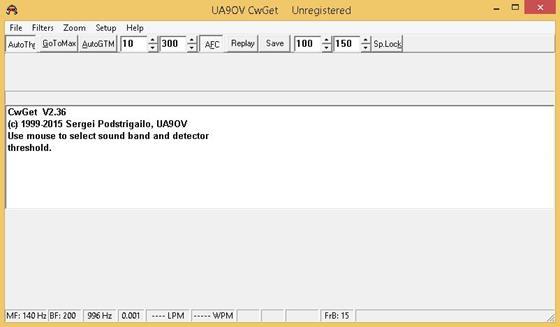 Скриншот программы cwget