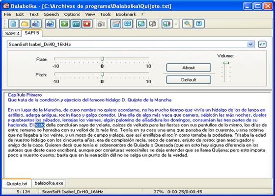 Скриншот программы балаболка для windows 10