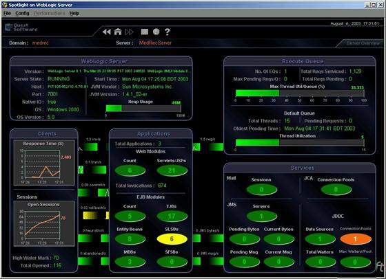 Скриншот программы spotlight