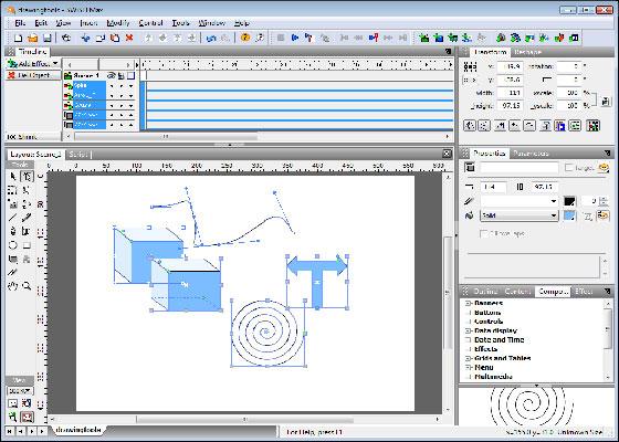 Скриншот программы swishmax