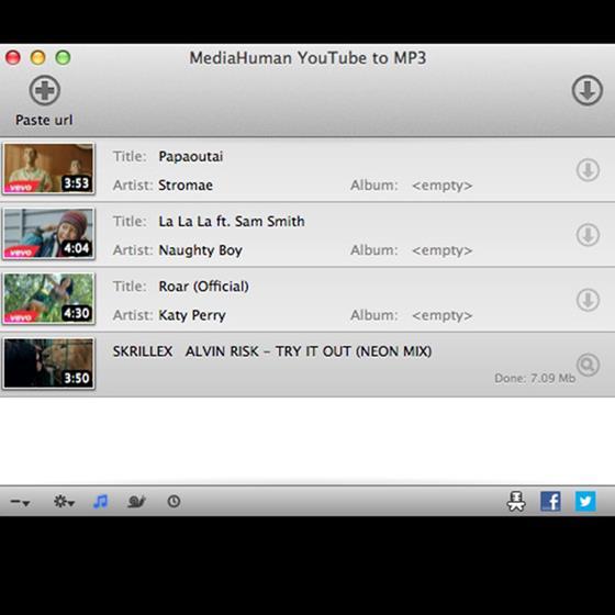Скриншот программы mediahuman youtube downloader