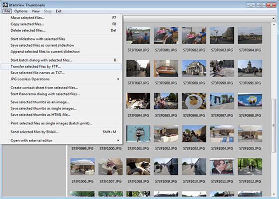 Скриншот программы irfanview 4.41