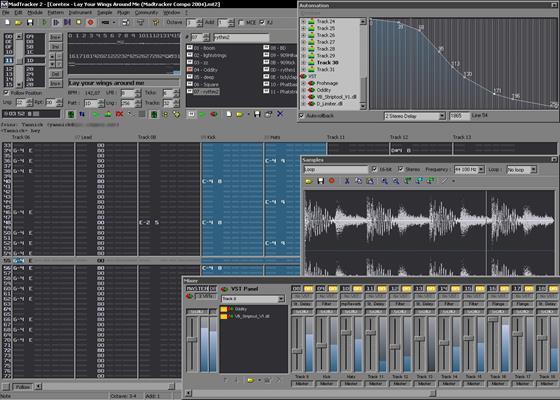 Скриншот программы madtracker