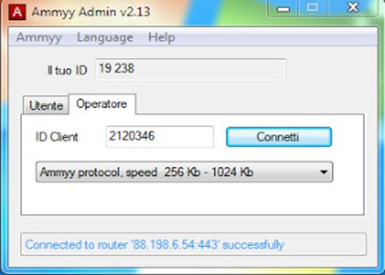 Скриншот программы ammyy admin