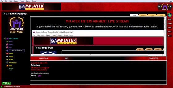 Скриншот программы mplayer