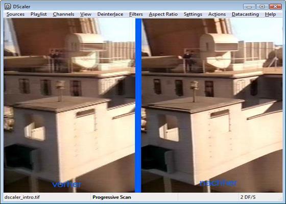 Скриншот программы dscaler для windows 10