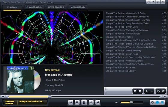Скриншот программы kantaris media player