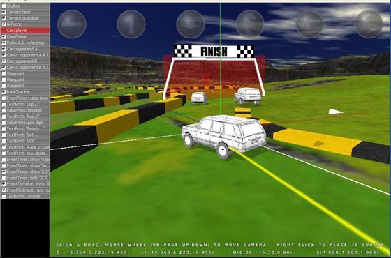 Скриншот программы 3d rad