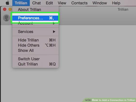 Скриншот программы trillian