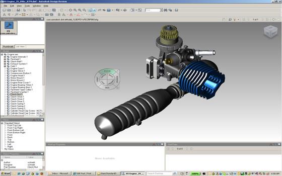 Скриншот программы autodesk design