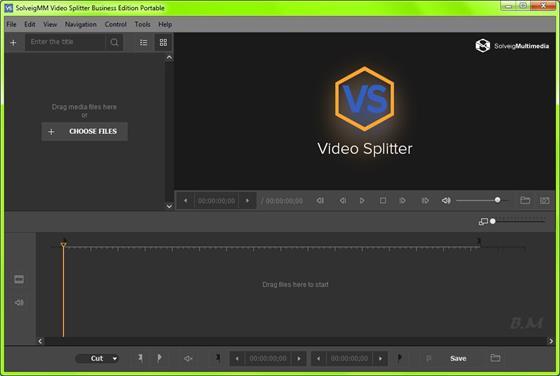 Скриншот программы solveigmm video splitter