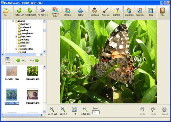 Скриншот программы photoeditor
