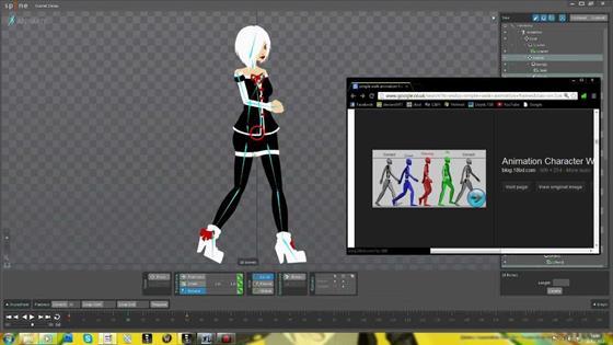 Скриншот программы spine