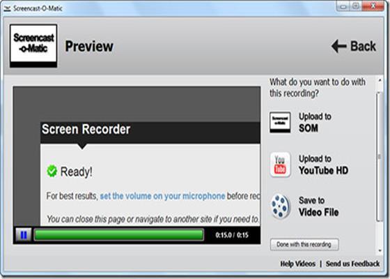 Скриншот программы screencast-o-matic