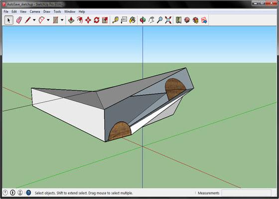 Скриншот программы sketchup pro