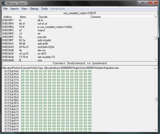 Скриншот программы cheat engine