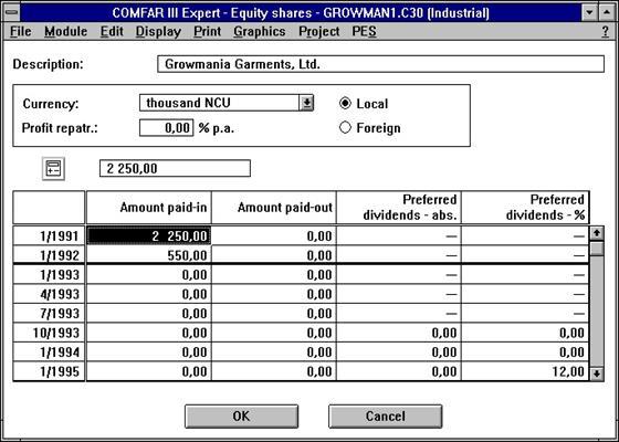 Скриншот программы comfar iii expert