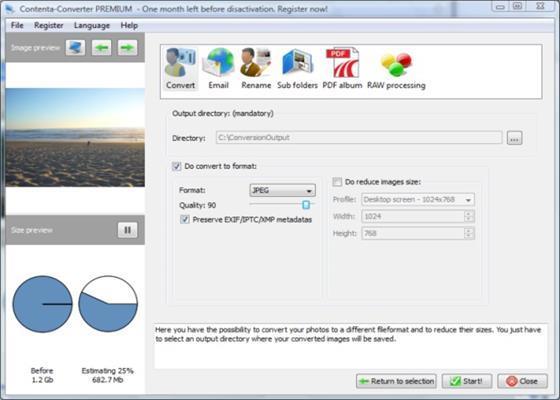 Скриншот программы srw