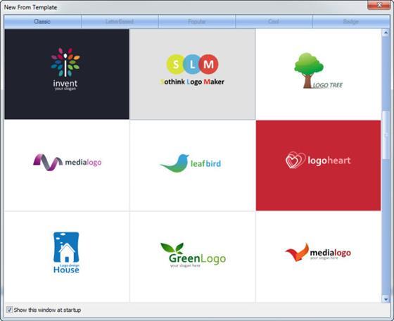 Скриншот программы sothink logo maker