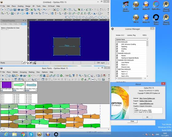 Скриншот программы optitex