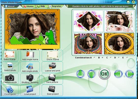 Скриншот программы photo booth