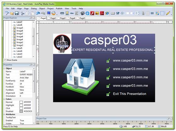 Скриншот программы autoplay media studio